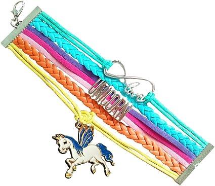 Cute ladies designer equestrian jewllery charm bracelet horsey girls brown amber