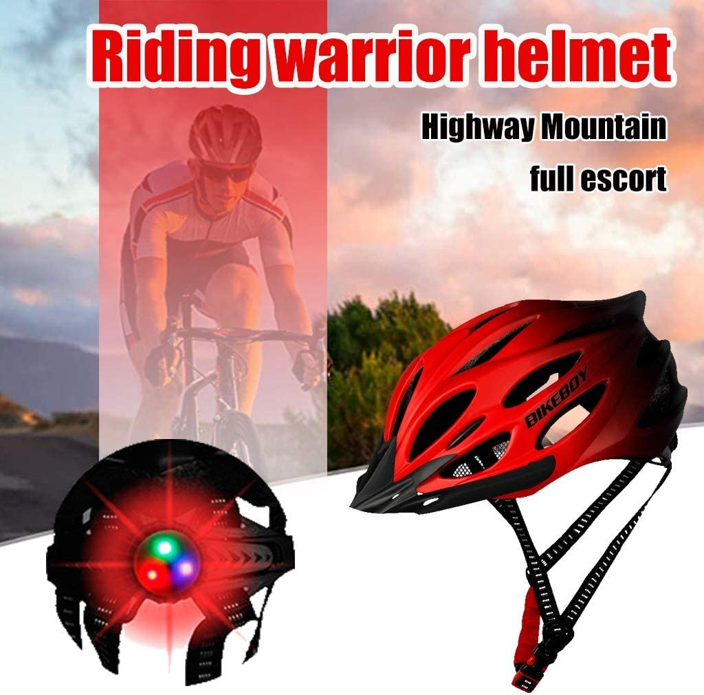 Mountainbike Helm MTB Fahrradradhelme f/ür M/änner Frauen Mountain /& Road Einstellbarer Sicherheitsschutz Skateboarding Ski /& Snowboard YXIU Fahrradhelm