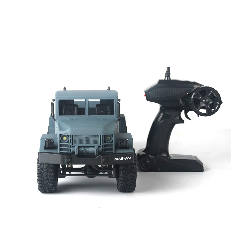 CLCYL RC Kletterwagen/Geländewagen, Analog Appearance Four-Wheel Drive Climbing 1:16 Ratio 2.4G Wireless Remote Control 4 Kanäle Zwei Farbspielzeug