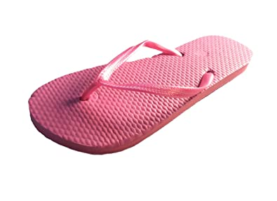 1d88a83de11d9 Sandrocks Ladies Girls Value Plain FLIP Flops Beach Sandals 7 Colours -  Sizes 3 4