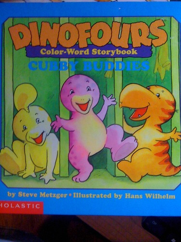 Download Dinofours Color-Word Storybook Cubby Buddies PDF
