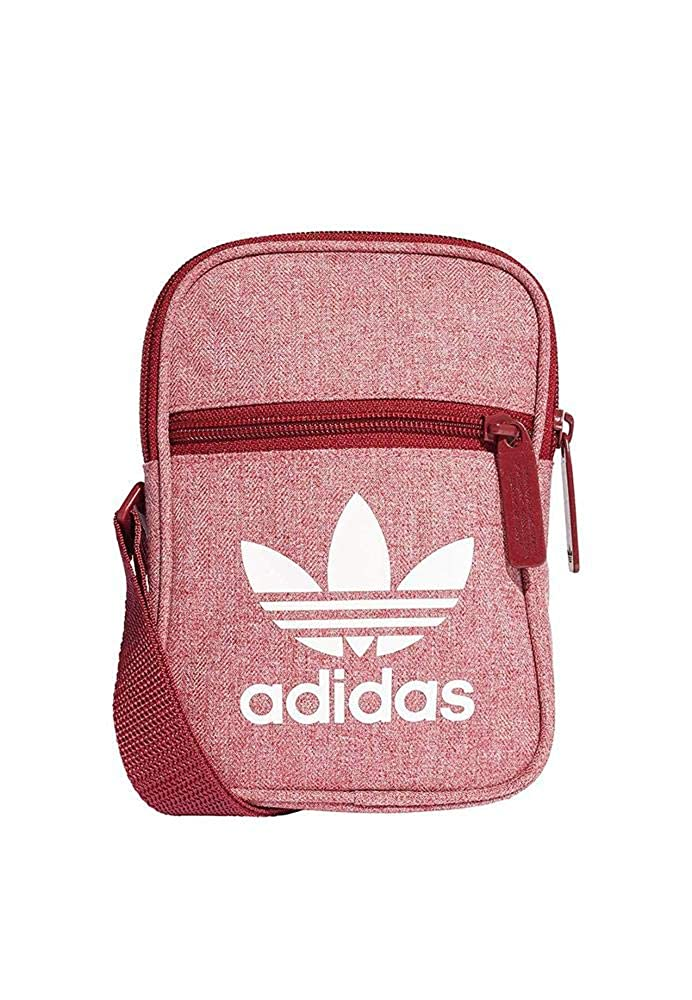 Adidas Bag Fest Casual Bordo Mel White