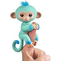 Wow Wee vingerlings tweekleurig aapje, interactief speelgoed, reageert op geluiden, bewegingen en aanrakingen 11cm All…