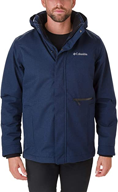 Columbia Boundary Bay Jacket Chaqueta Impermeable, Hombre: Amazon ...