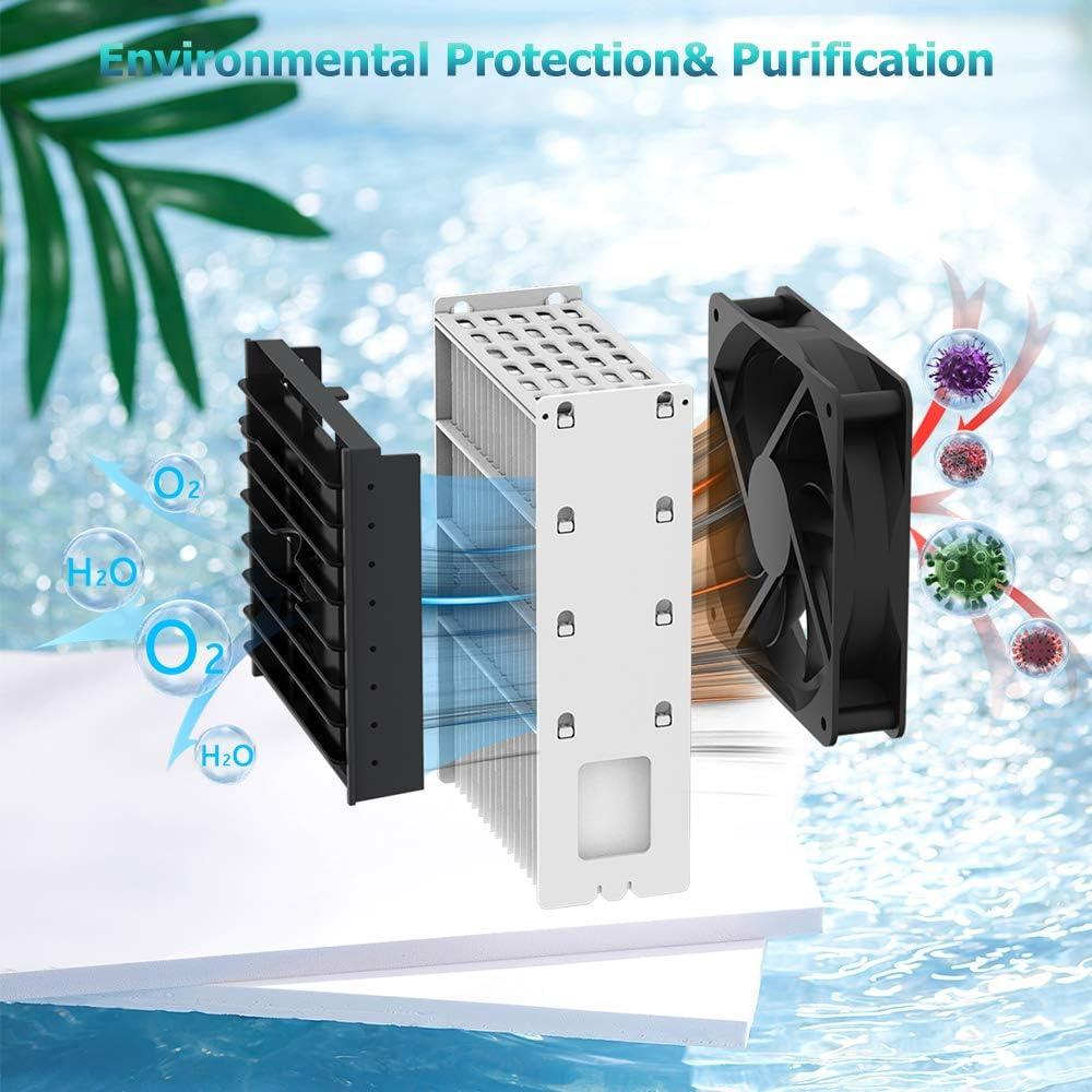 Enfriador de Aire Personal Aire Acondicionado Port/átil Mini Acondicionador de Aire M/óvil
