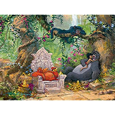 Ceaco Puzzle Disney Fine Art Libro Della Giungla Wanna Be Like You 1000pc 3377 5