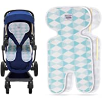 CrazyAnt Piddle Pad Travel Potty Carseat Seat Protectors Strong Surface Water Absorption Washable Seat Liners with 360 Degree Buckle Hole Protection for Potty Training and Long Car Trips
