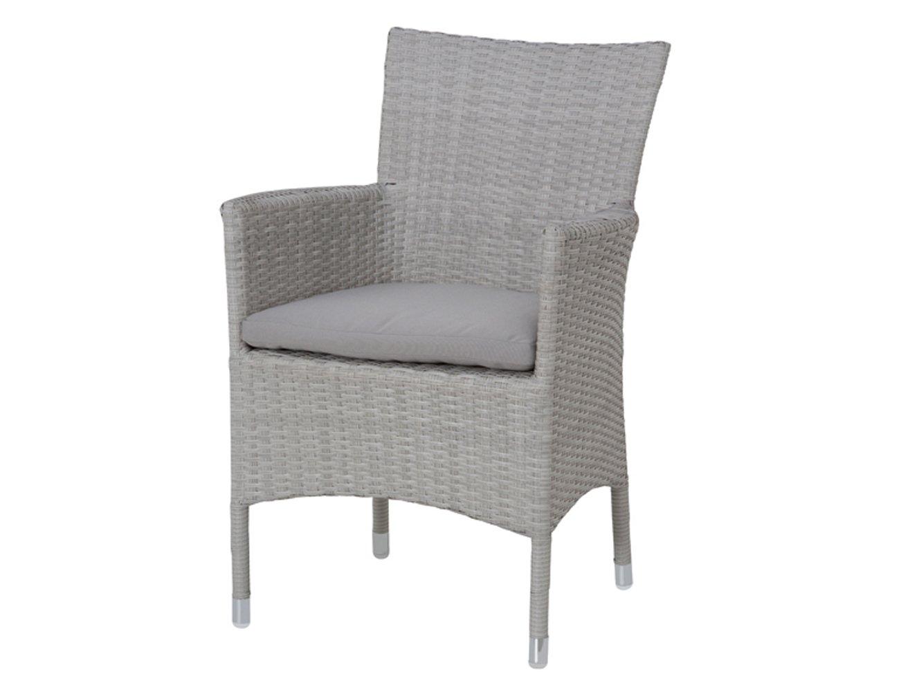 siena garden 912834 sessel bern aluminium untergestell gardino geflecht polar kissen grau 61. Black Bedroom Furniture Sets. Home Design Ideas