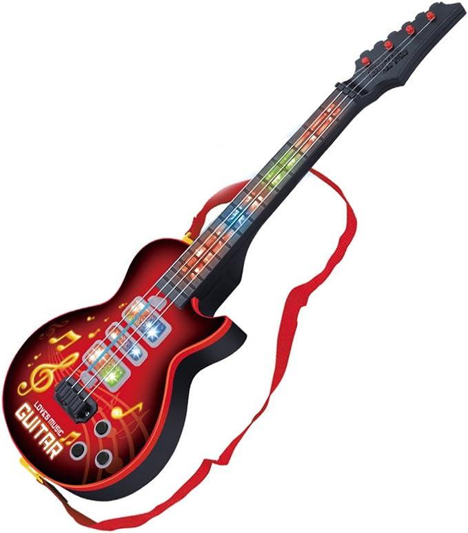 YVSoo Guitarra eléctrica para Niños, 4 Cuerdas Guitarra clásica ...