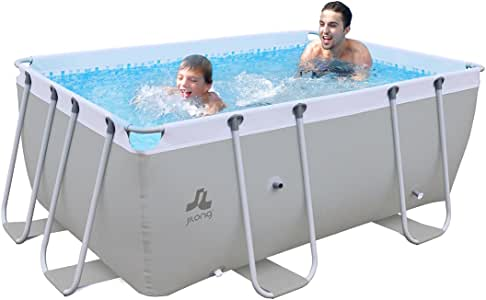 Jilong XL - Piscina Familiar (3 x 2 x 1 m, Estructura de Acero ...