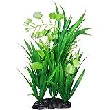 Generic Simulation Aquatic Plastic Plants Aquarium Ornament Decorations - 8.7 x 5.5 x 24cm