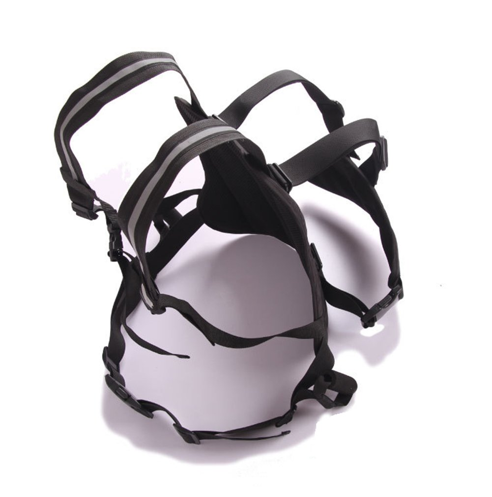 LOLBUY High Strength Childrens Motorcycle Safety Harness Can be Adjusted Up and Down,Black. by LOLBUY (Image #2)