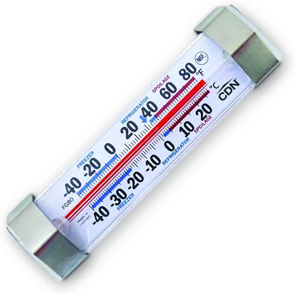 CDN - Termómetro para frigorífico (-40 a 27 ºC): Amazon.es ...