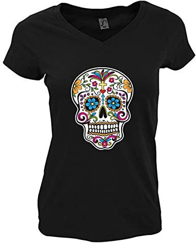 t-shirt tête de mort femme 5