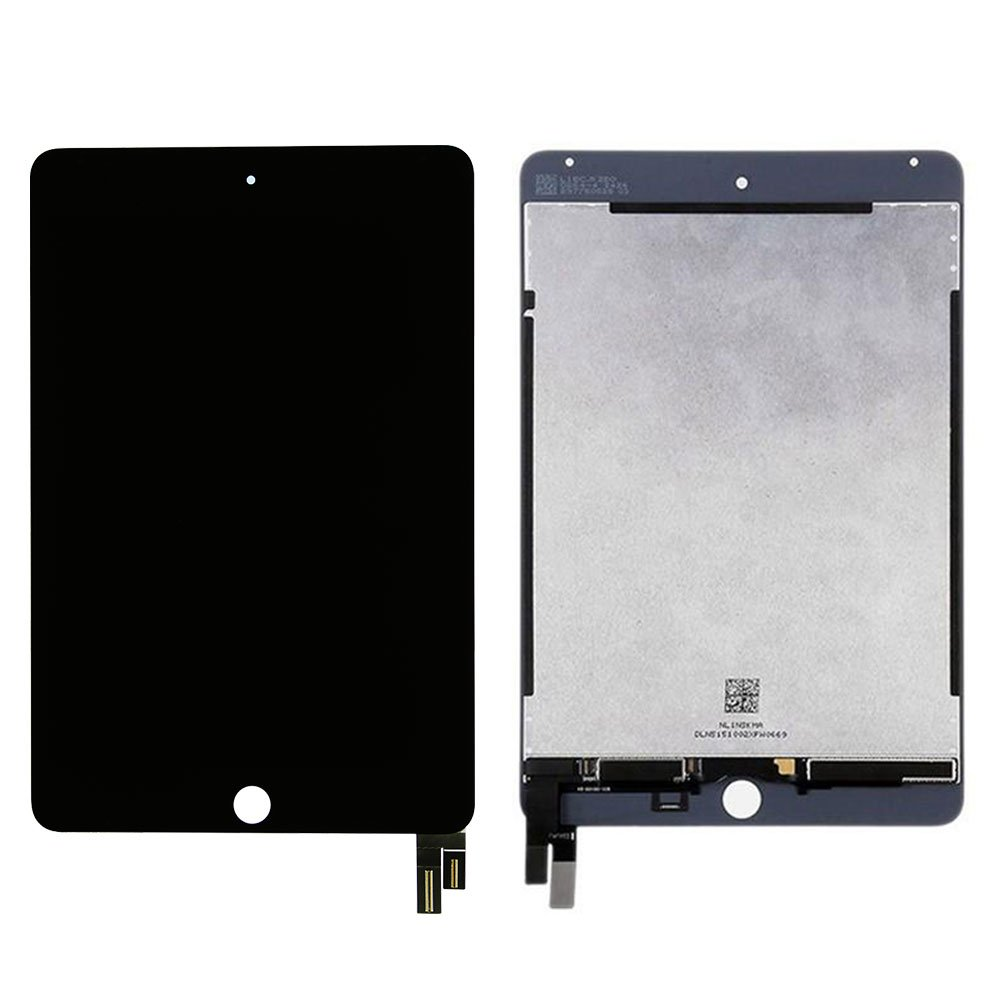 Touch Screen Digitizer and LCD for Apple iPad Mini 4 - A+ - Black by Group Vertical