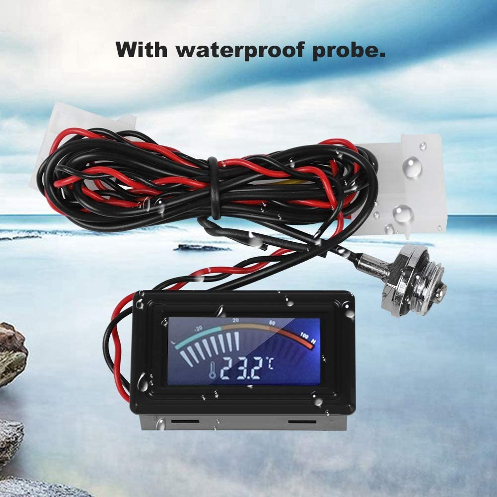 Professional Practical Durable with Pointer Display for PC Water Cooling System Thermometer Redxiao Temperature Meter