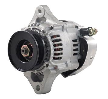 NEW 16 VOLT 60 AMP 1-WIRE MINI RACE ALTERNATOR FITS HI AMP 8176 8166 Hitachi Alternator Amp Wiring on