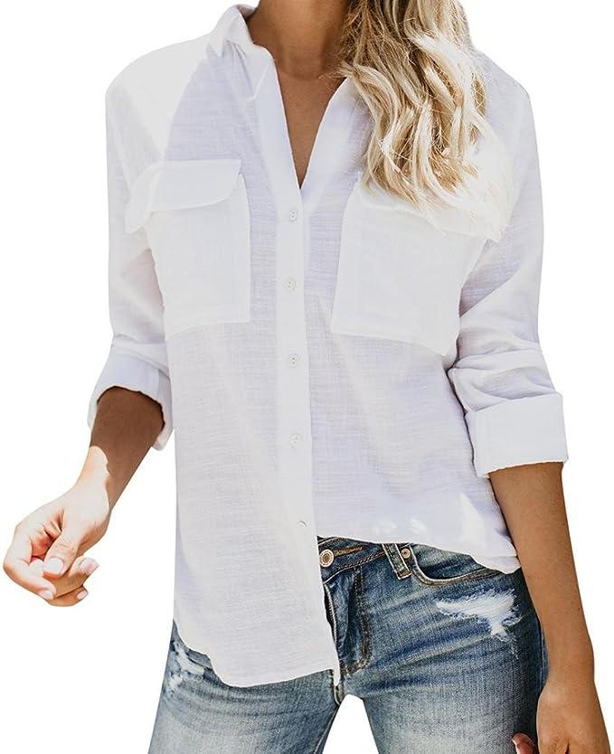 Donna Camicia da Donna camicette Camicia Shirt nuovo senso Verde dimensioni 40 L 44 XXL