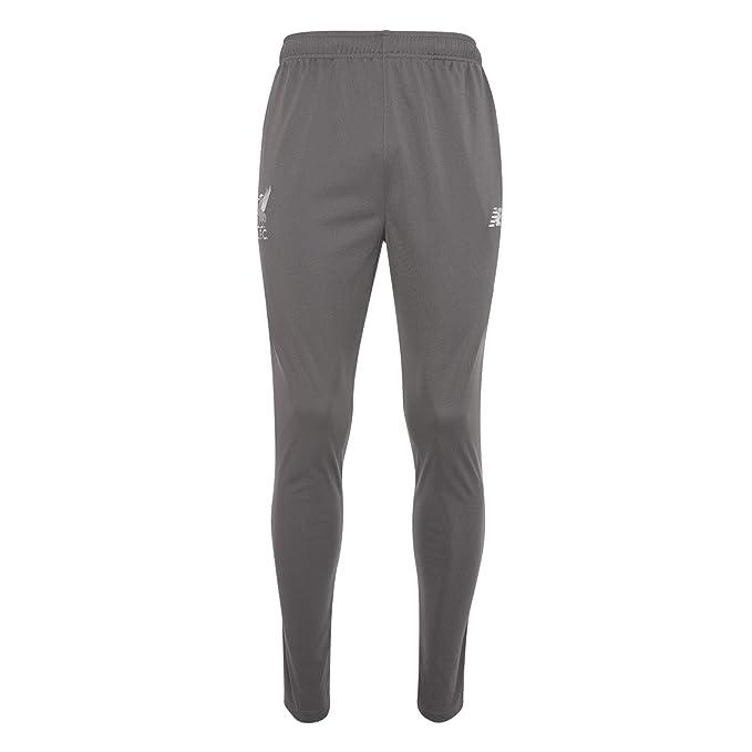 79c791923 Liverpool New Balance Grey Training Presentation Pants 2018 19 (Adults)-2X-