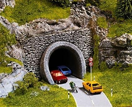 58052 Entrée De Tunnel Bâtiment Modélisme Ferroviaire 2 Voies Noch