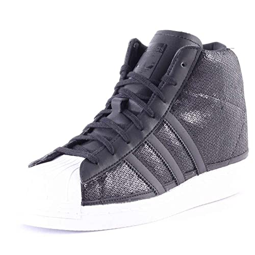 fee4a1bae adidas Superstar Up, Scarpe Basse Donna, (Nero e Bianco), 42: Amazon.it: Scarpe  e borse
