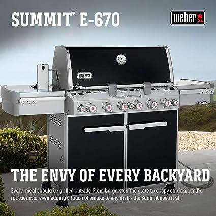 Amazon.com: Asador Weber Summit E-670769 pulgadas ...