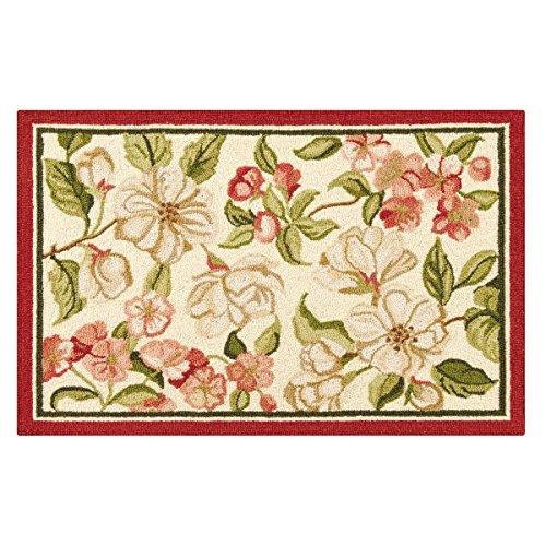 - C&F Home Custis Garden Hooked Rug, 2' x 3' , Pink