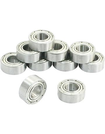 Rodamientos rigidos a bolas - SODIAL(R) 10 piezas rodamientos de bolas radiales profundos