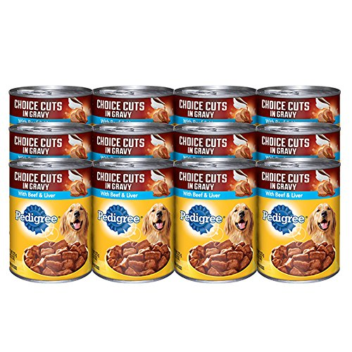 Pedigree Choice Cuts In Gravy With Beef And Liver Canned Dog Food 22 Ounces (Pack Of 12) (Discontinued By Manufacturer)
