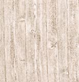 Brewster 412-56909 20.5-Inch by 396-Inch Raised wood - Textured Depth Wallpaper, White by Brewster Wallcovering--DROPSHIP
