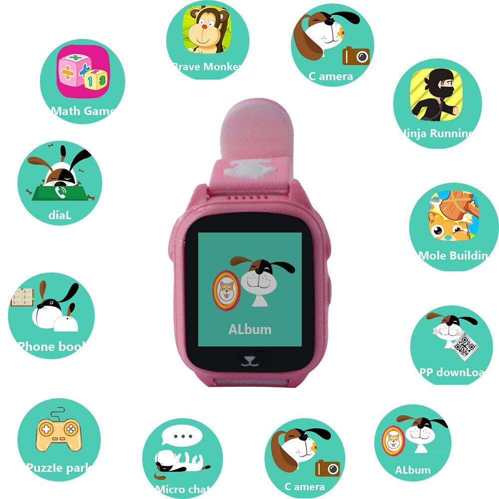 zeerkeer Juego Smartwatch Impermeable Pulsera Reloj ...