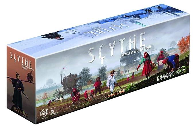 Scythe: invasores remotos (Juegos de Feuerland 11): Amazon.es ...