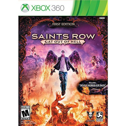 Saints Row: Gat Out of Hell for Xbox 360 Includes Devils Workshop Pack by Deep - The Row Shop