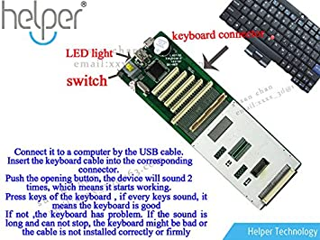 Amazon 2015 new universal laptop keyboard tester testing 2015 new universal laptop keyboard tester testing device machine tool for more than 90 laptop publicscrutiny Image collections