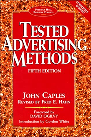 image for Tested Advertising Methods (5th Edition) (Prentice Hall Business Classics)
