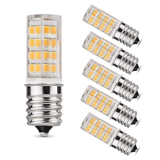 Bombilla LED E17 para horno microondas sobre estufa, 7 W (75 W ...