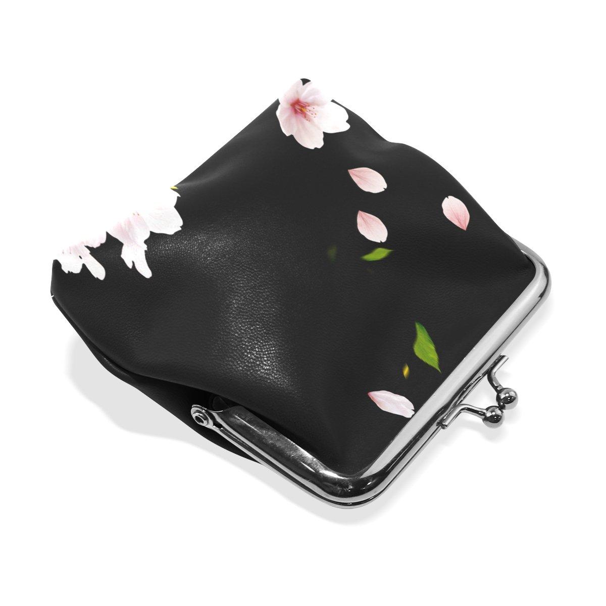 Amazon.com: Pétalos de rosa para mujer cartera Monederos ...