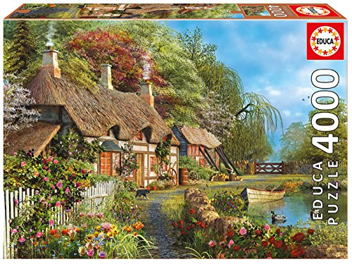 Educa Children's 4000 Riverside Home in Bloom Puzzle
