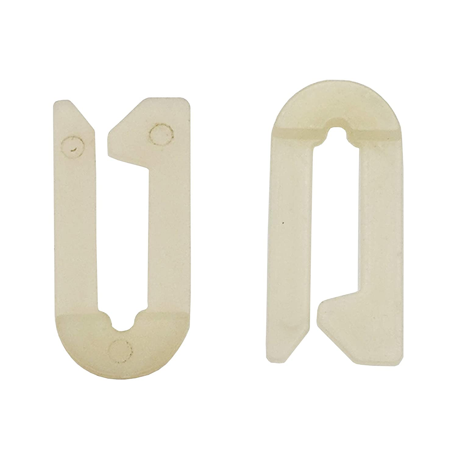 Supplying Demand WH1X2117 Washer Dryer Knob Clip 2 Pack Fits WH01X2117