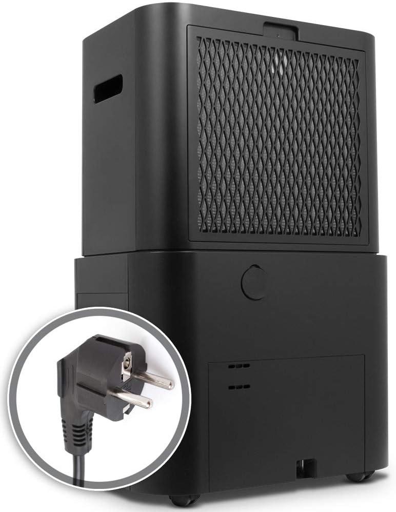 Deshumidificador de Compresor con Refrigerante R290 Inventor Fresh 10L//24h Deshumidificaci/ón Continua y Silenciosa y Panel de Control Digital