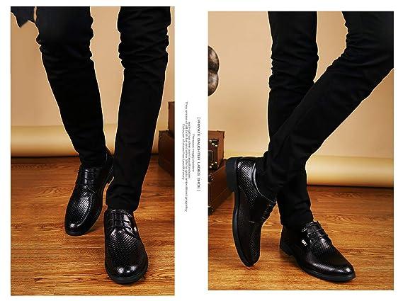 Scarpe Da Lavoro Da Uomo Oxford Traspiranti Scarpe Traforate Resistente Allabrasione Estive Casual In Pelle Basse Traforate Primo Strato Di Bovina Vestito Formale