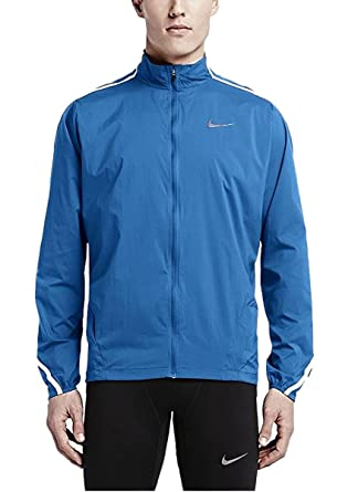aedbb4c1c64b Image Unavailable. Image not available for. Color  NIKE Mens Impossibly  Light Full Zip Running Jacket ...