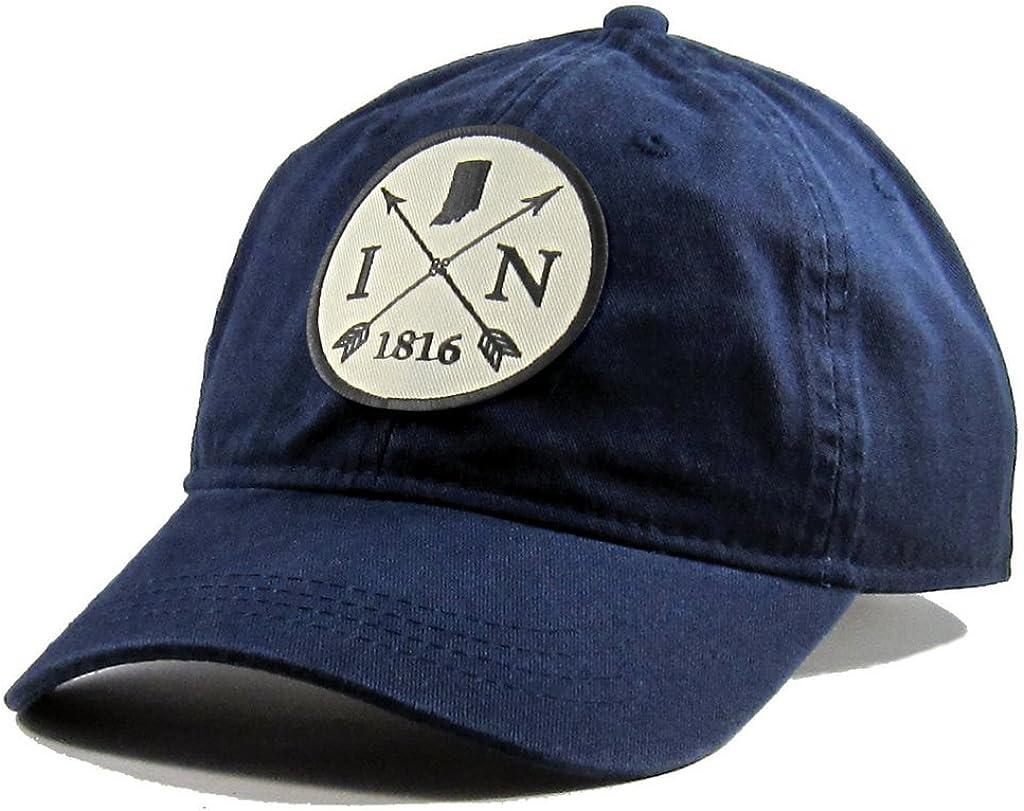 Homeland Tees Mens Arkansas Arrow Patch Cotton All Black Hat