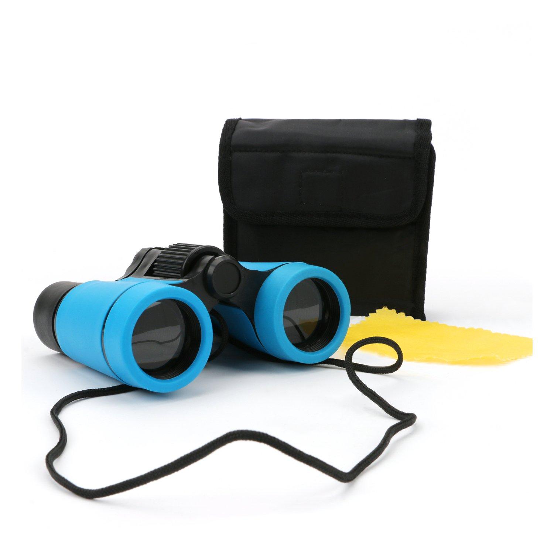 Scotamalone Kid Binoculars Shock Proof Toy Binoculars Set Bird Watching Educational Learning Hunting Hiking Birthday Presents Gifts for Children color2