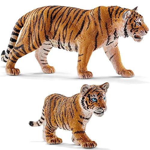Schleich-Wild Life-Tiger jeune 14732 NEUF blanc