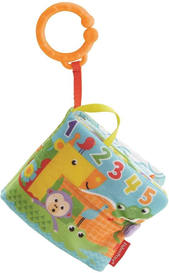 Fisher Price 1-to-5 Activity Book Soft Toys at amazon