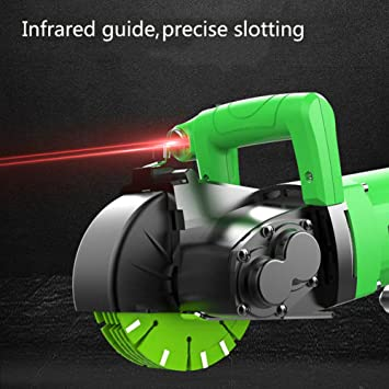 Wall Groove Cutting Machine Electric Wall Chaser Slotting Machine Tool 220V 50HZ