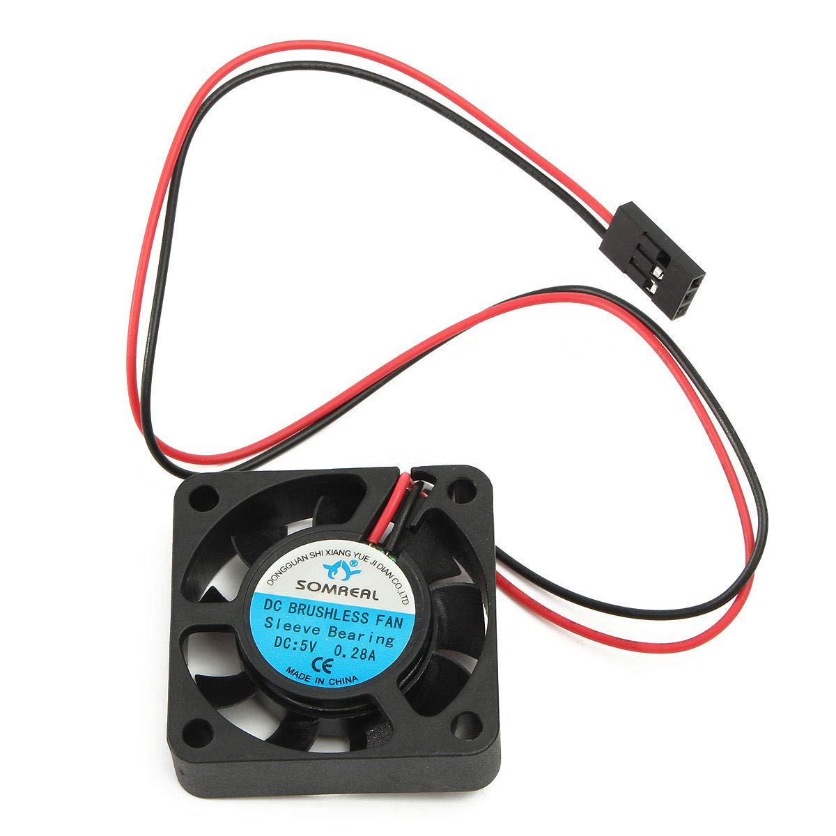 Hobbywing 5V-7V 150A DC Cooling Fan For RC Model Motor ESC 25//30//40mm Power