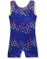Leotards for Little Girls Gymnastics Ballet Dance One Piece Floral Stars Rainbow