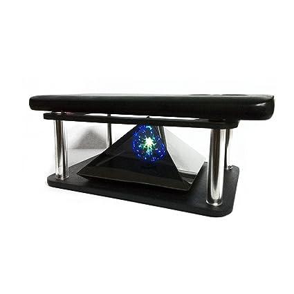 Amazon.com: 3d holograma pirámide Proyector para Smartphone ...